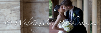 wedding videographer perth